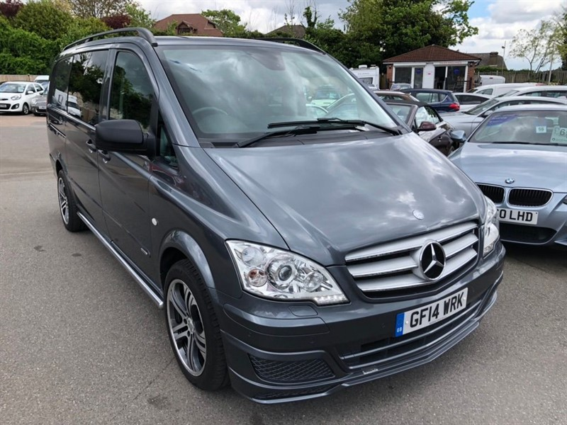 used Mercedes Vito 122CDI Dualiner Sport Long Panel Van (EU5) in rochester-kent