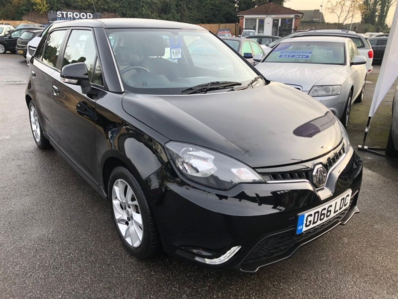 used MG 3 VTi-TECH 3Form Sport (s/s) 5dr in rochester-kent