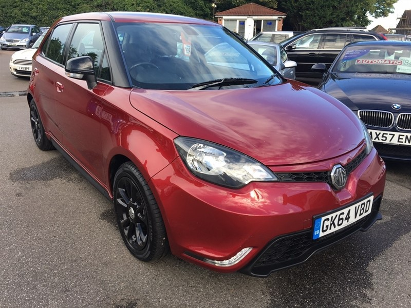 used MG  MG3 VTi-Tech 3Style Lux 5dr in rochester-kent