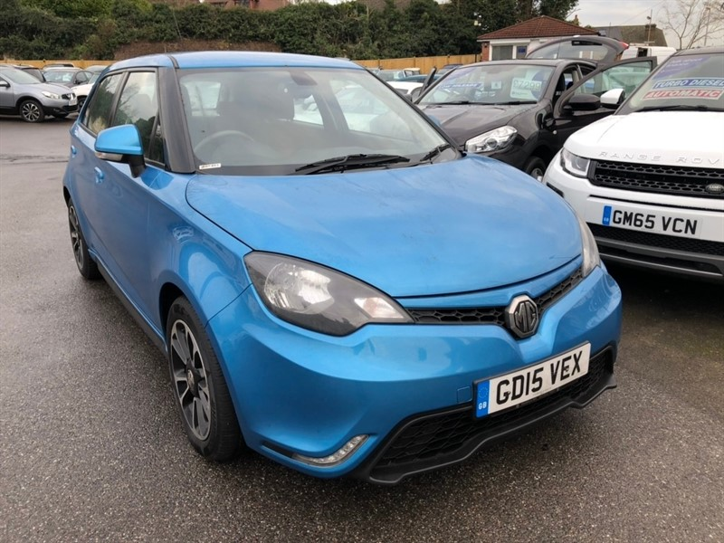used MG  MG3 VTi-TECH 3Style 5dr (Leather) in rochester-kent