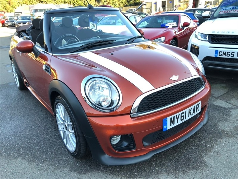 used MINI Convertible TD Cooper D Avenue 2dr in rochester-kent