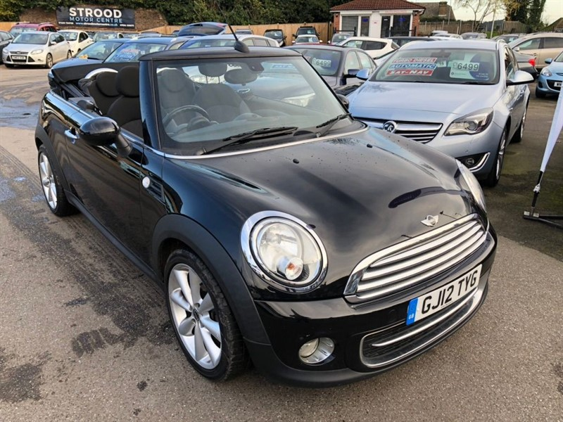 used MINI Convertible Cooper D Avenue 2dr in rochester-kent