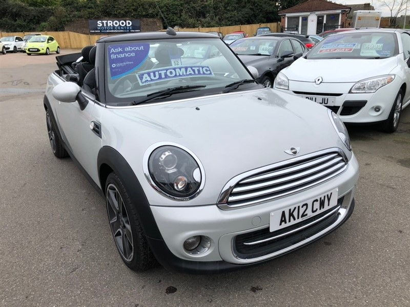 used MINI Convertible Cooper Soho 2dr in rochester-kent