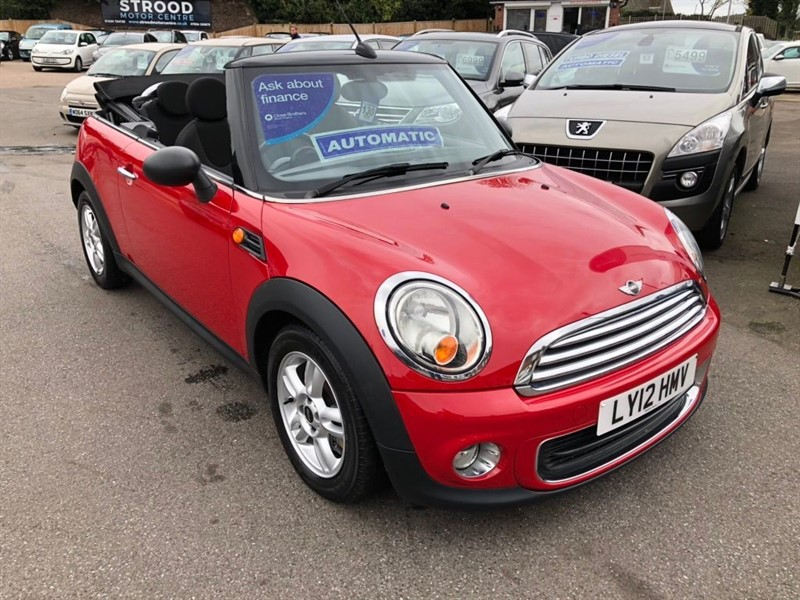 used MINI Convertible One Avenue 2dr in rochester-kent