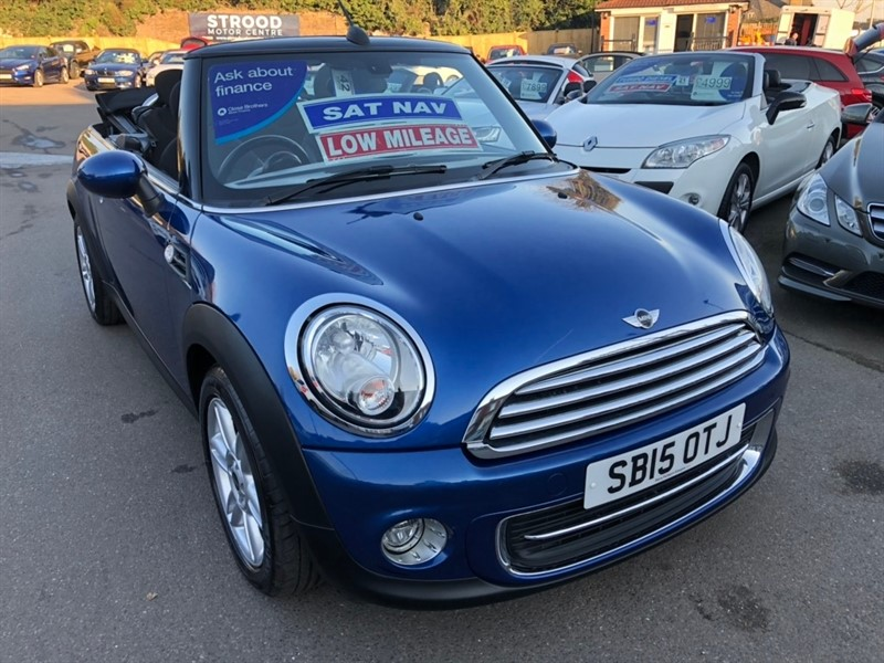 used MINI Convertible Cooper (s/s) 2dr in rochester-kent