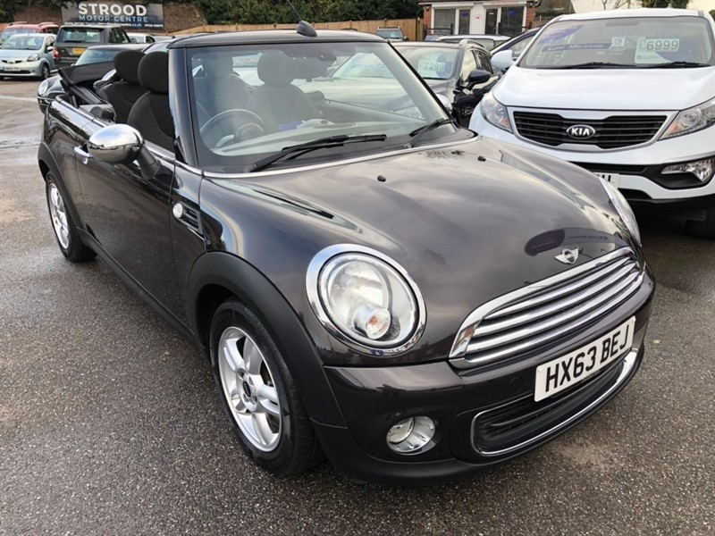 used MINI Convertible One (Salt) 2dr in rochester-kent