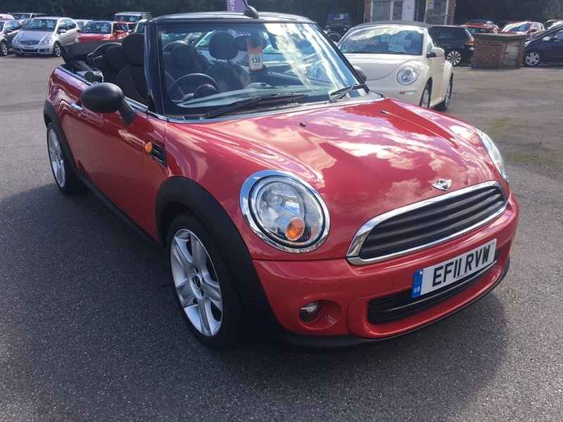 used MINI Convertible One (Salt pack) 2dr in rochester-kent