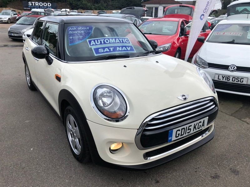 used MINI Cooper Auto (s/s) in rochester-kent