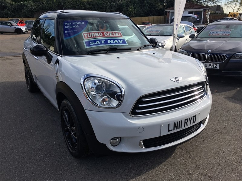 used MINI Countryman Cooper D (Pepper) 5dr in rochester-kent