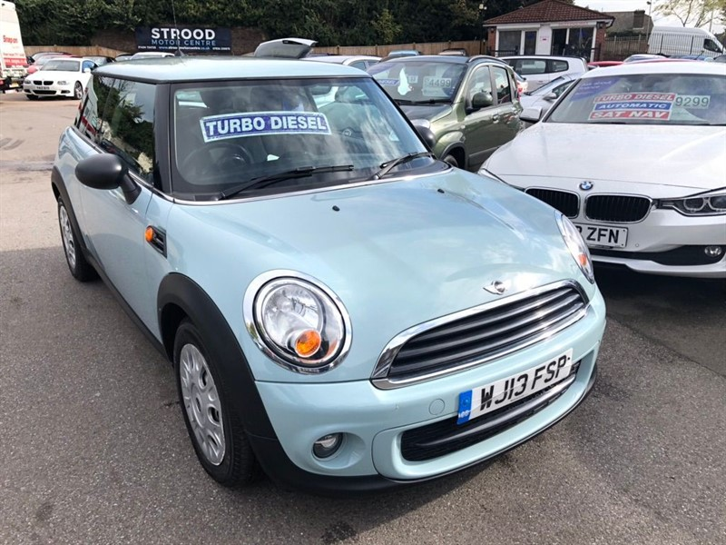 used MINI Hatch One D (Sport Chili) 3dr in rochester-kent