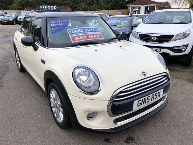 used MINI Hatch Cooper D (s/s) 5dr in rochester-kent