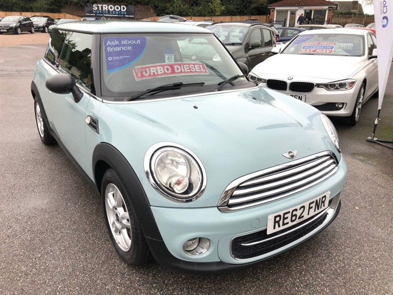 used MINI Hatch One D 3dr in rochester-kent