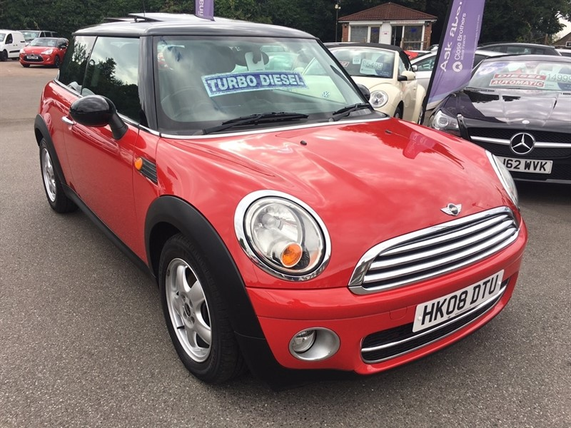 used MINI Hatch Cooper D 3dr in rochester-kent