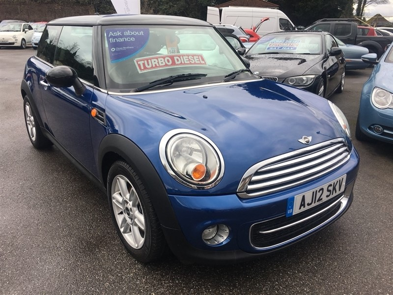 used MINI Hatch TD Cooper D London 12 Edition 3dr in rochester-kent