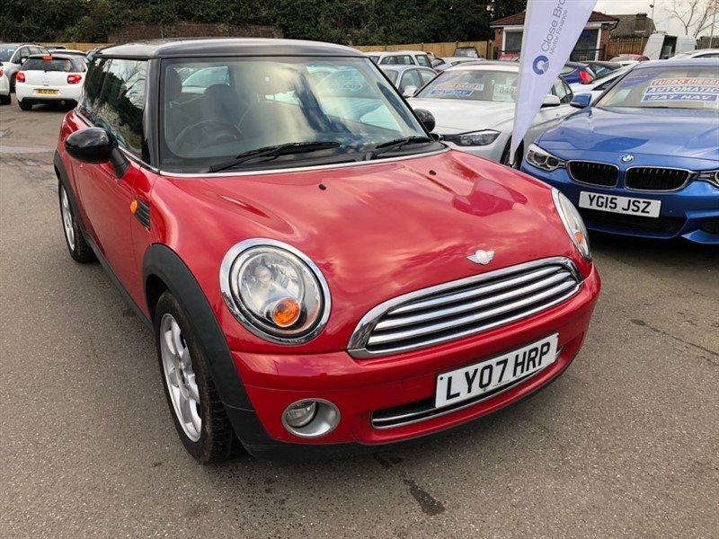 used MINI Hatch Cooper 3dr in rochester-kent