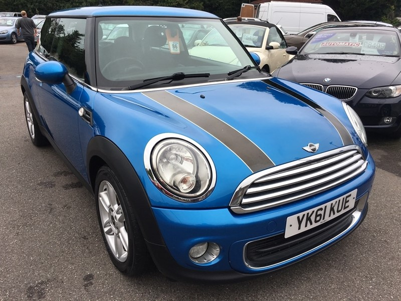 used MINI Hatch One Pimlico 3dr in rochester-kent