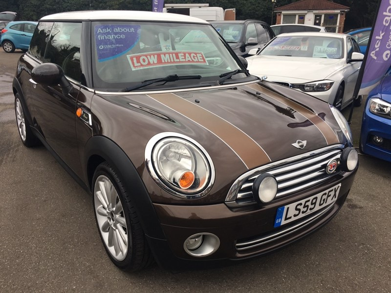 used MINI Hatch Cooper Mayfair 3dr in rochester-kent