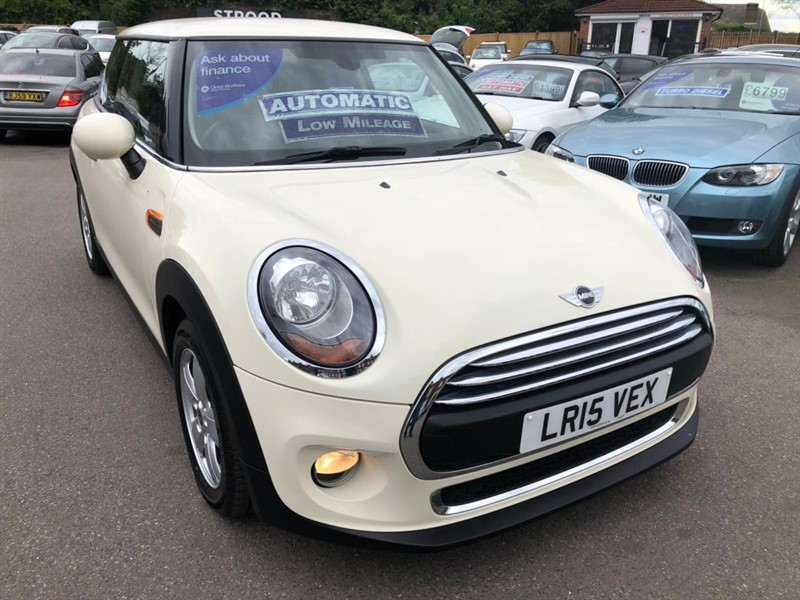 used MINI Hatch One (Media XL) 3dr in rochester-kent