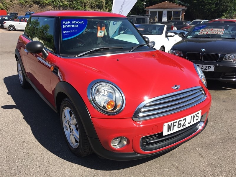 used MINI Hatch One (Pepper) 3dr in rochester-kent