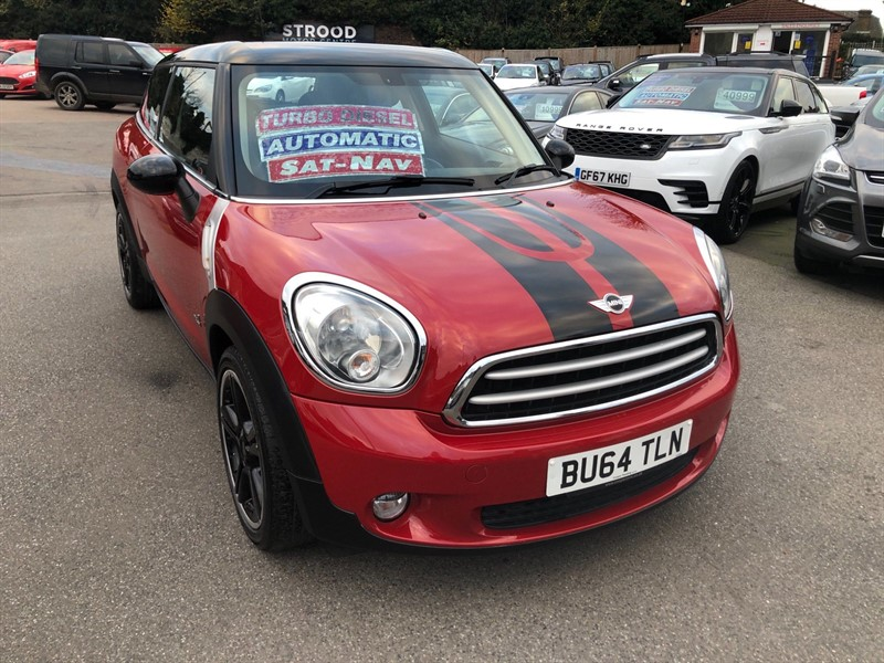 used MINI Paceman Cooper D ALL4 in rochester-kent