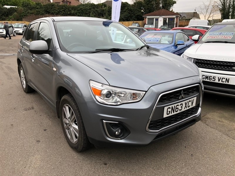 used Mitsubishi ASX 2.2 DI-D 4 4x4 5dr in rochester-kent