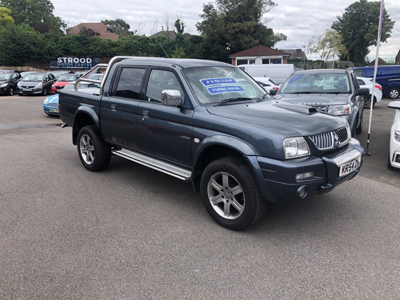 used Mitsubishi L200 Animal Crewcab Pickup 4WD in rochester-kent