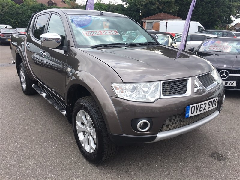 used Mitsubishi L200 DI-D CR Barbarian LB Double Cab Pickup 4WD 4dr (EU5) in rochester-kent
