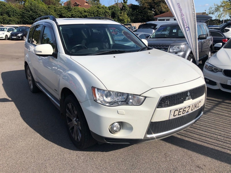 used Mitsubishi Outlander 2.2 DI-D GX4 (7 seats) in rochester-kent