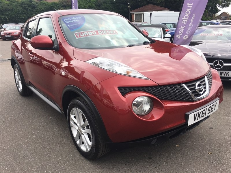 used Nissan Juke dCi Acenta Sport 5dr in rochester-kent