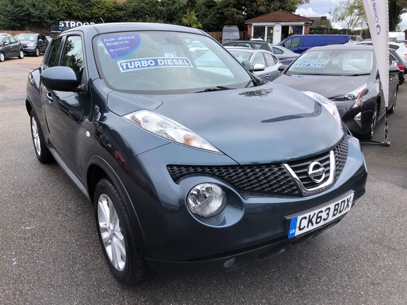 used Nissan Juke Acenta in rochester-kent
