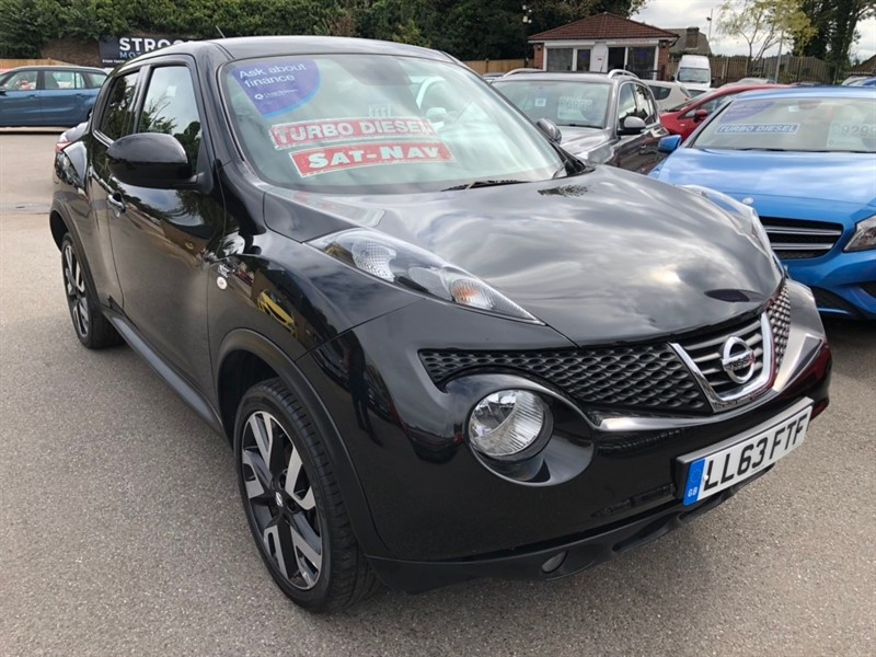 used Nissan Juke dCi n-tec 5dr in rochester-kent