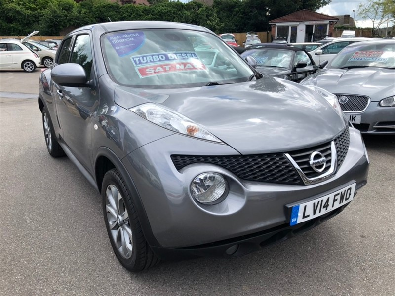 used Nissan Juke dCi Tekna 5dr in rochester-kent
