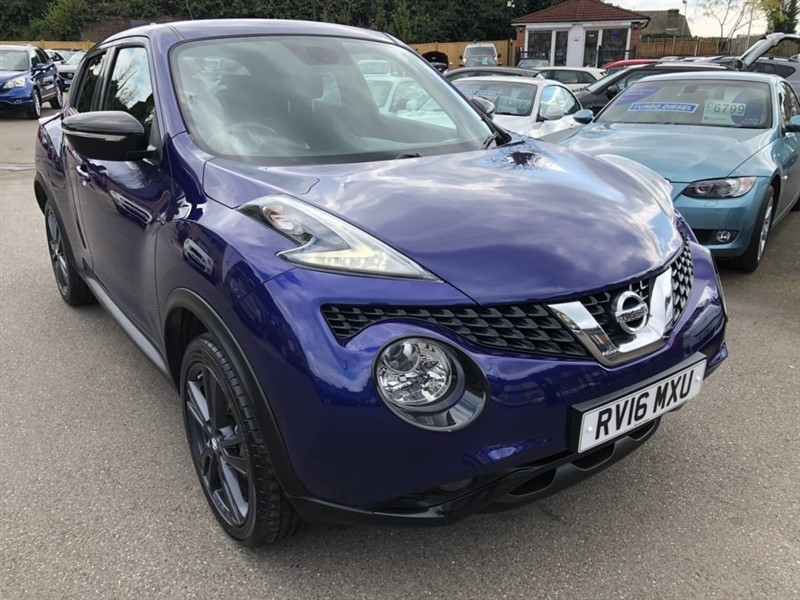 used Nissan Juke dCi N-Connecta (s/s) 5dr in rochester-kent