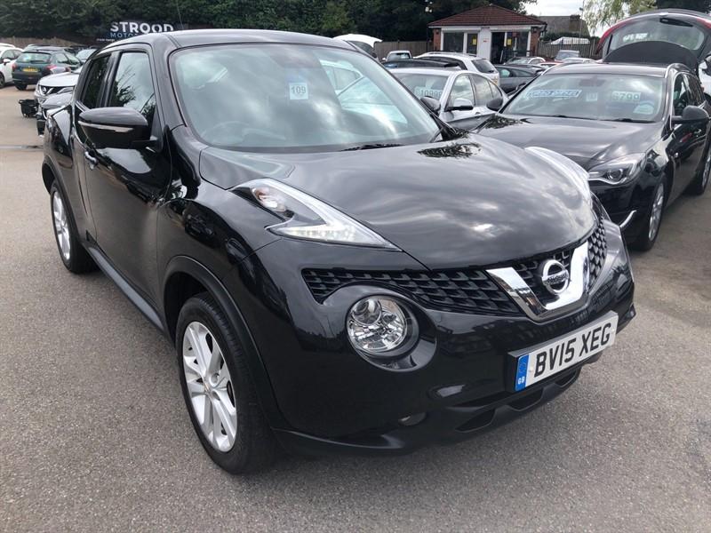 used Nissan Juke 8v Acenta Premium (s/s) in rochester-kent
