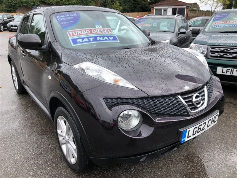 used Nissan Juke dCi Acenta Premium 5dr in rochester-kent