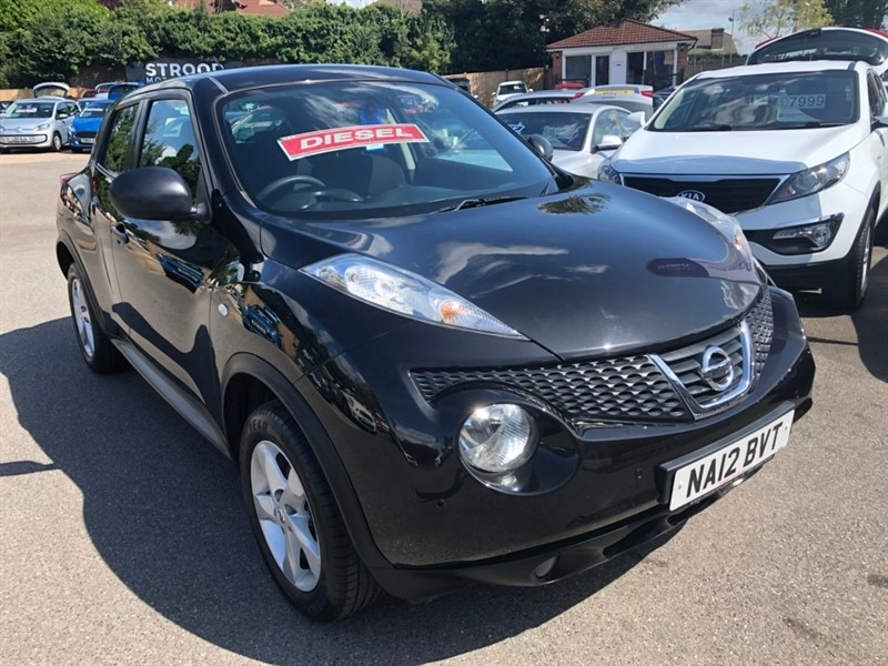 used Nissan Juke dCi Visia 5dr in rochester-kent