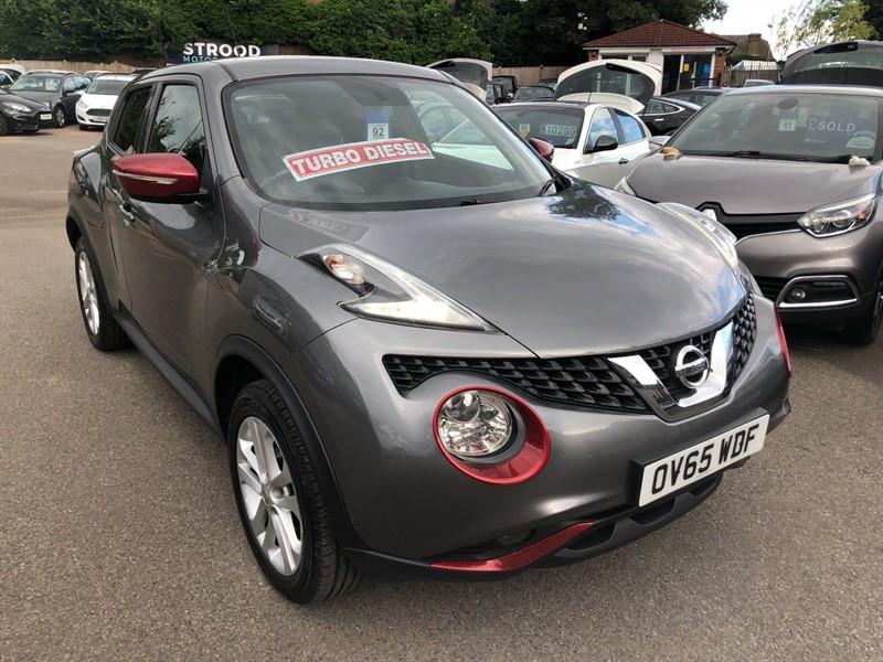 used Nissan Juke Acenta Premium (s/s) in rochester-kent