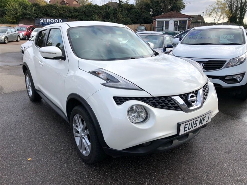 used Nissan Juke Acenta Premium XTRON 5dr EU5 in rochester-kent
