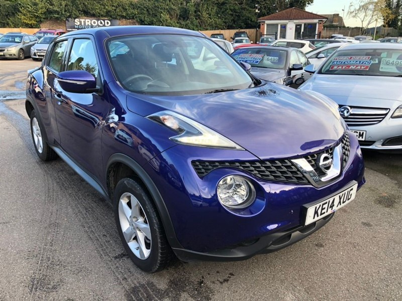 used Nissan Juke Visia 5dr EU5 in rochester-kent