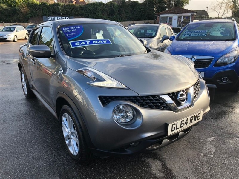 used Nissan Juke DIG-T Acenta Premium Manual 6Spd (s/s) 5dr in rochester-kent