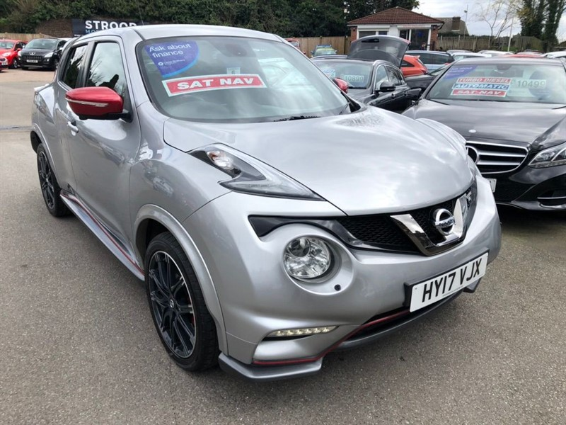 used Nissan Juke Nismo RS in rochester-kent
