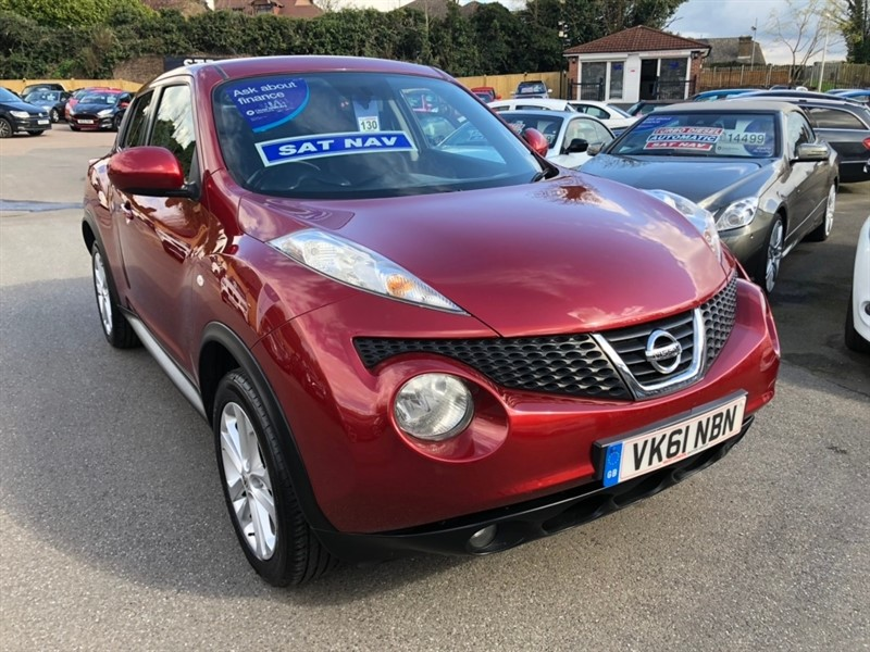 used Nissan Juke DIG-T Acenta Premium 5dr in rochester-kent