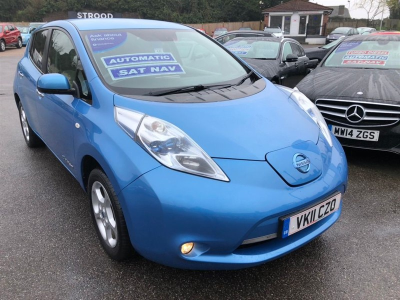used Nissan Leaf (24kWh) in rochester-kent