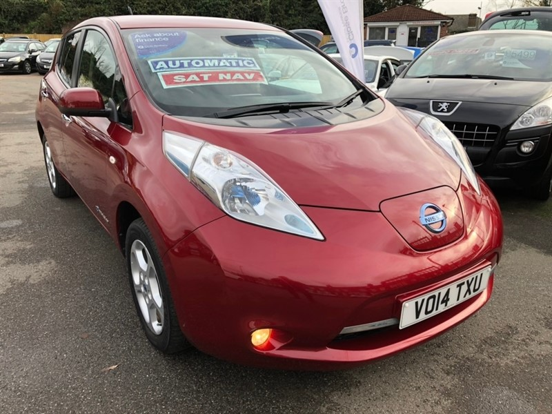 used Nissan Leaf (24kWh) Acenta 5dr in rochester-kent