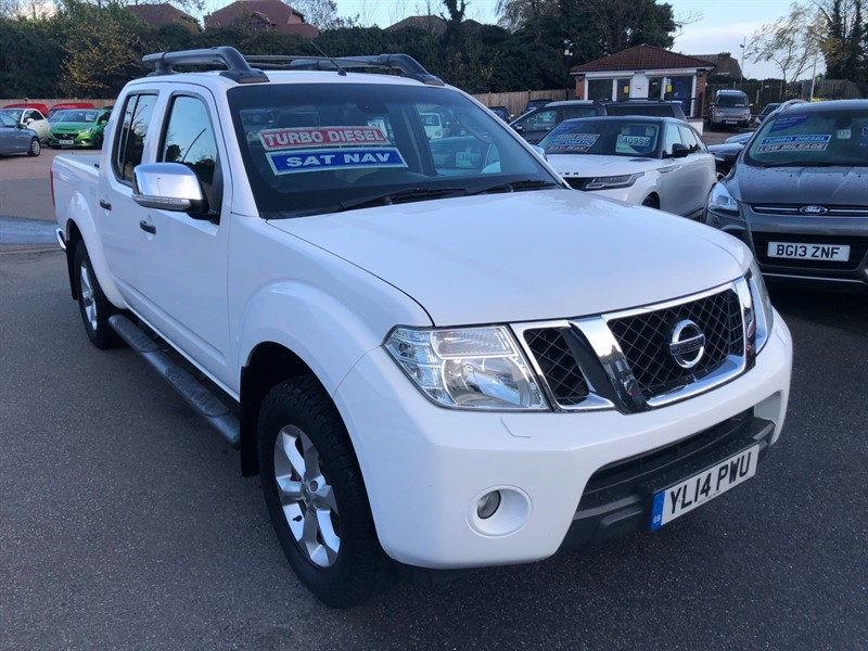 used Nissan Navara Tekna Double Cab Pickup (EU5) in rochester-kent