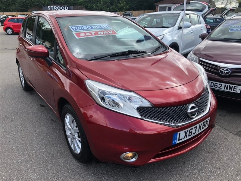 used Nissan Note dCi Acenta Premium (Style Pack) 5dr in rochester-kent