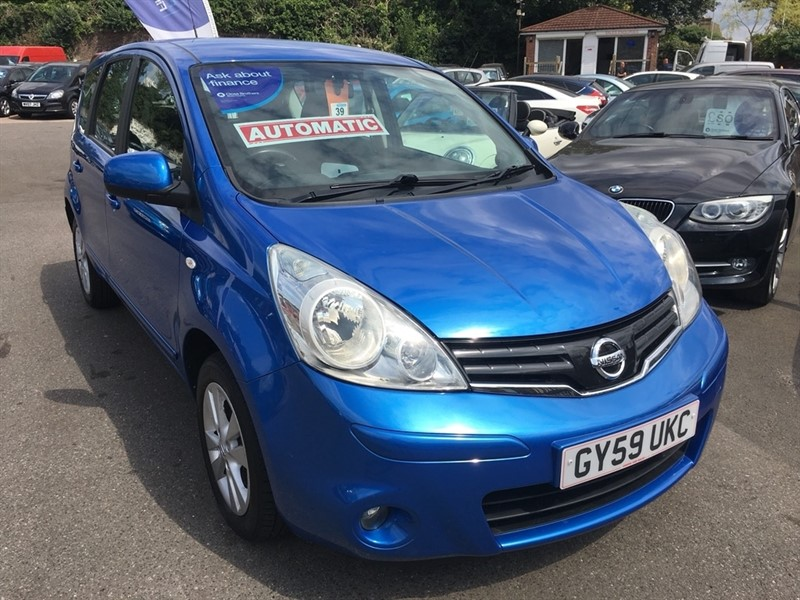 used Nissan Note 16v Acenta 5dr in rochester-kent