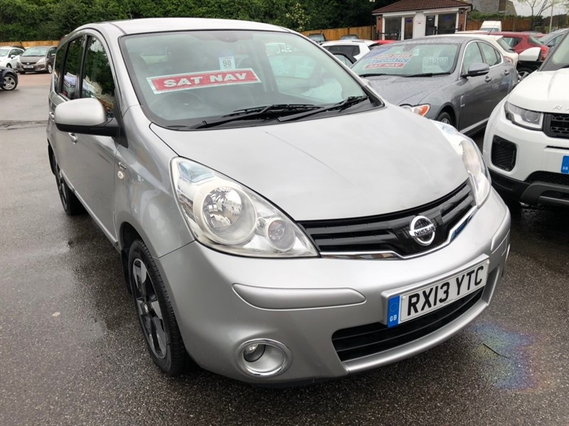 used Nissan Note 16v N-TEC+ 5dr in rochester-kent