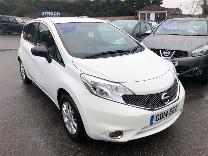 used Nissan Note Acenta (Style Pack) 5dr in rochester-kent