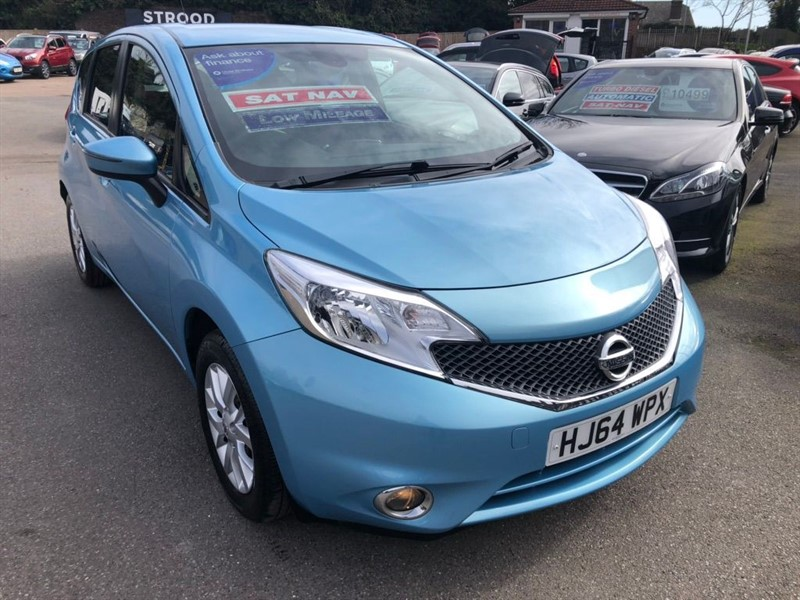 used Nissan Note Acenta Premium (Style Pack) in rochester-kent